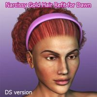 NarcissyGoldHair Fit for Dawn by ratorama
