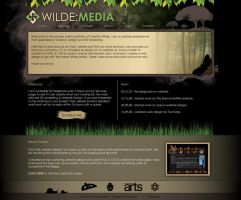 Wilde Media Website Design V2 by wilde-media