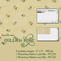 Golden Roses by Dani3D