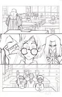 Harry Potter: Philosopher's Stone pencils page ii by Murielle