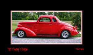 '37 Chevy Coupe - Framed by TomFawls