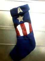 Marvel's Avengers Captain America Stocking by hoganvibe