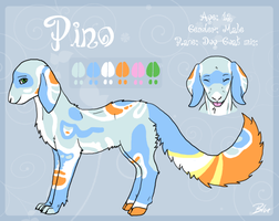 Pino Ref Commision by Bluefirewings