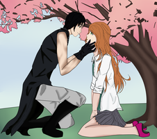 .:Commission 1 : Reaver x Morihime:. by insert-name-here13