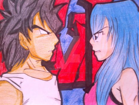 Vegeta VS Bulma by Lucy-hearttfillia