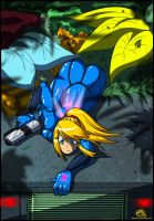 Samus Stealth by FBende