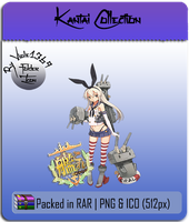 Kantai Collection - KanColle Folder Icon 1 by Viole1369