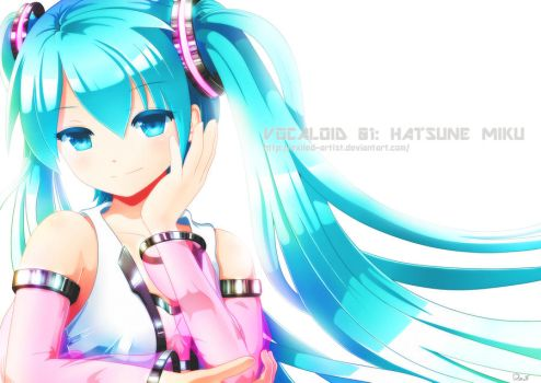 Hatsune Miku - Practice by Exiled-Artist