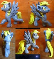 Derpy Hooves Spring Sculpt by Wolf--Shadow