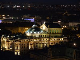 Cracow by night by mmagik