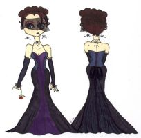 The Gothic Wedding Dress: 2009 by TheDramaticMonarch