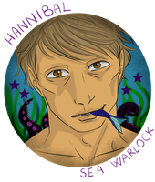 Hannibal mermaid AU - The Sea Warlock by FuriarossaAndMimma