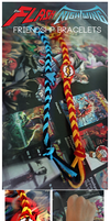 Flash and Nightwing Friendship Bracelets by ChawChawPowWow