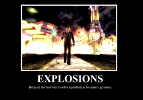 Explosive Motivational Poster by Gota115