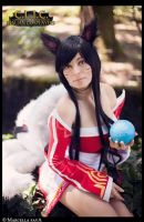 Ahri Cosplay - League Of Legends (LoL) ~30 by LyoeItsumi