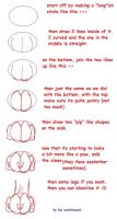 how to draw paws by galexy-candy
