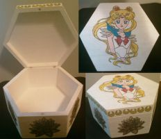 Sailor Moon Box 2. by princessfromthesky