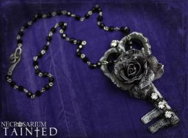 Tainted - Key Necklace 1 by Necrosarium