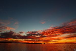 Fall Sunset Series #71 by LifeThroughALens84