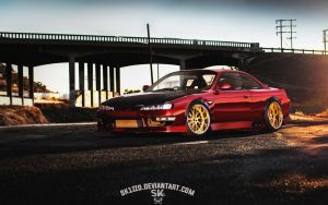 Nissan Silvia S14 by Sk1zzo