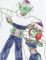Piccolo gets it by BetryedArtist