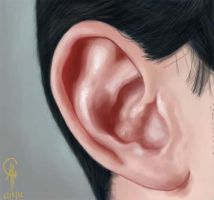 Ear study by Poyopeep