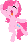 Happy Pinkie Vector~ by SketchyStars