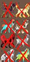Canines Adopts 2 -ALL GONE!- by Unstadoptables