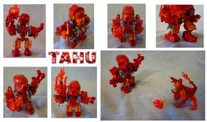 Turaga Tahu Nuva: The Unexpectedly Wise Hothead by ROBOCOP603