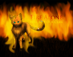 Fire Alone by WinterstarTheFirst