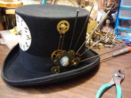 Clockwork Hat by benzod32