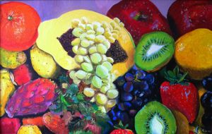 Natura Morta con Frutta by scifo