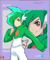 Touche:My Gijinka Gallade by Cessa