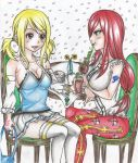 Spring Contest - At the fairy tail cafe by DevilishMirajane