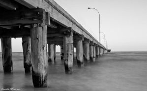 Altona Pier BW by DanielleMiner
