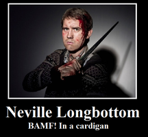 Neville is BAMF by bowtiesrcwl
