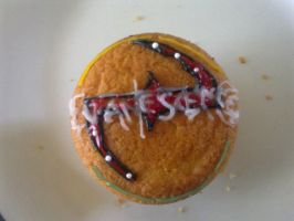 Evanescence Cupcake by BrighterHeart