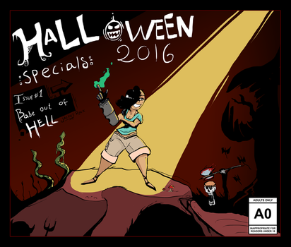 Halloween Specials #1 Leah by JacketRockArt