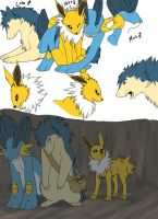 PMD doodles: Team Perfect by LifelessRiot