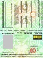 Gallifreyan Passport Revamp by Japanfanzz