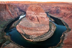 .:Horseshoe Bend Sunrise:. by RHCheng