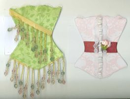 Corset No. 19 and 20 by tisjewel