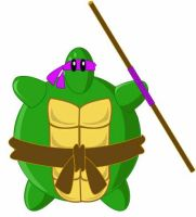 Pom Pom as a Ninja Turtle by Gpapanto