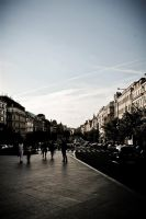 Centre of Prague by Desire--and--Sin