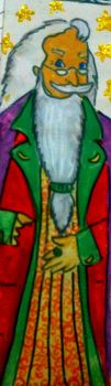 Dumbledore bookmark by pennydashing
