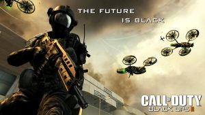 Black Ops 2 Future is Black by CokeSau