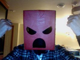 EMOTIONZ Box Mask (Mad) by UNlucky0013