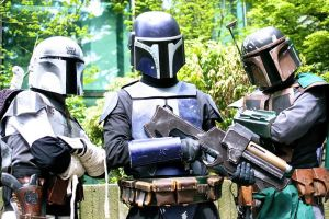 Mandalorian Mercs Invade Sakuracon by burningdreams76