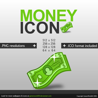 Money Icon by GamerWorld14