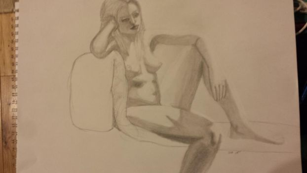 Life Drawing: 14 by vilesyn